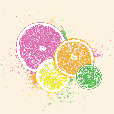 Citrus Splash T-shirt
