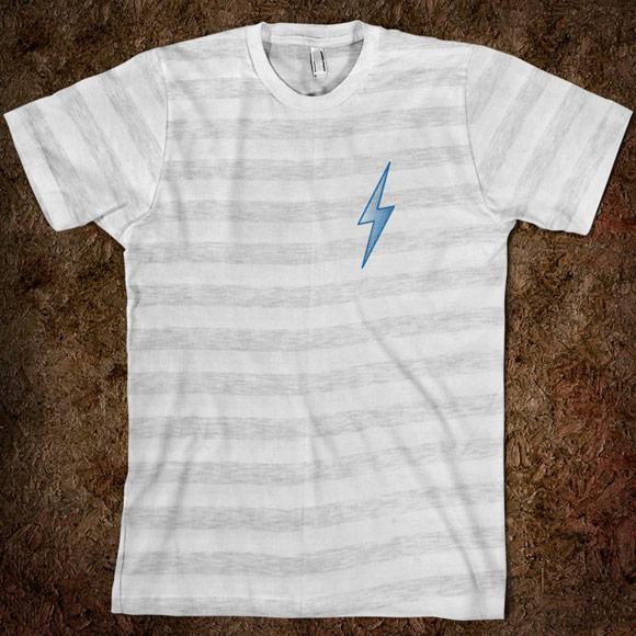 Lightning Bolt Halftone T-shirt