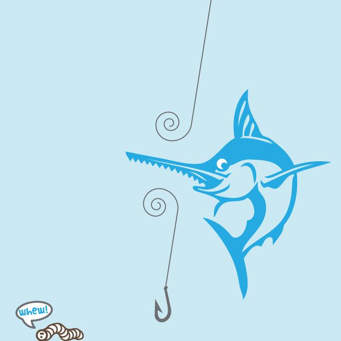 Swordfish T-shirt Design