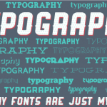 Typography, or why fonts are just my type