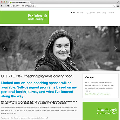 Breakthrough Health Coaching