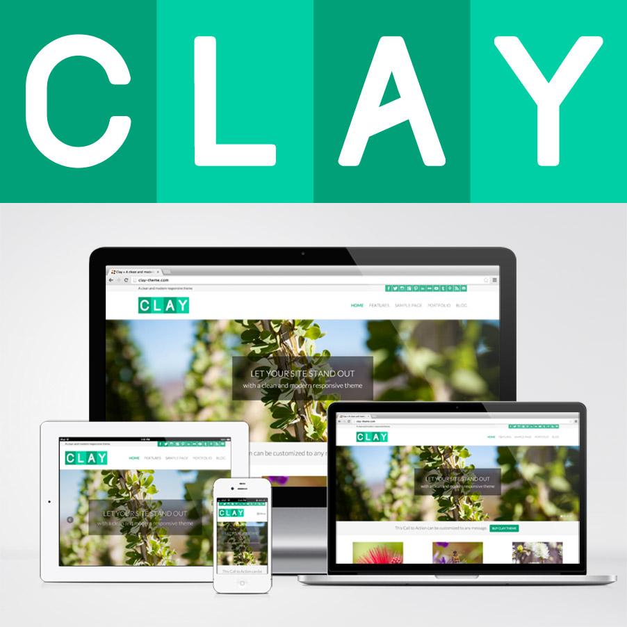 Clay Wordpress Theme 2x 187 Bottomless Design 187 All Natural