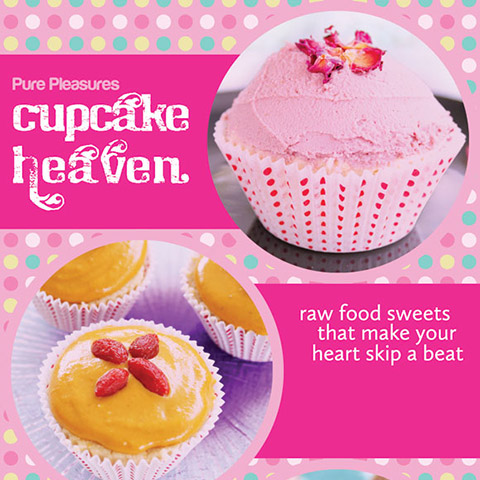 Cupcake Heaven Book Design