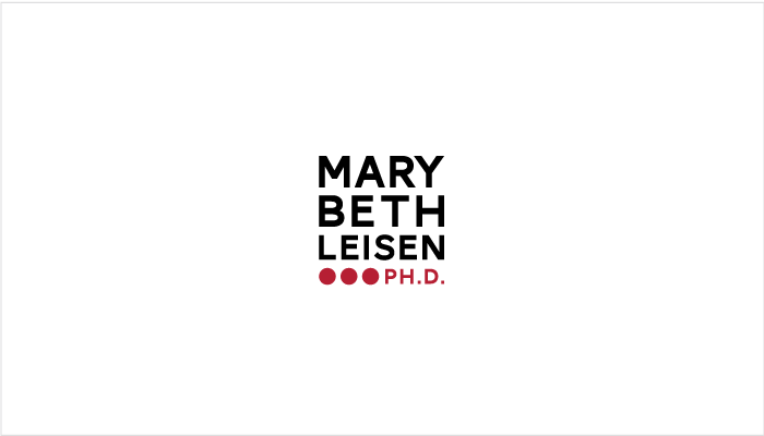 Mary Beth Leisen, Ph.D. Logo