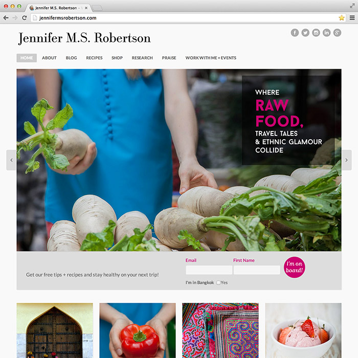 Jennifer M.S. Robertson website