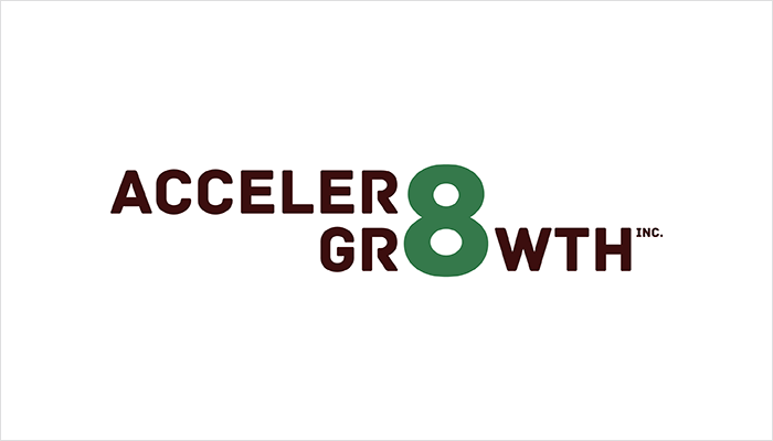 Acceler8 Growth Logo