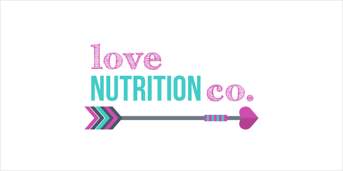 Love Nutrition Co. Logo