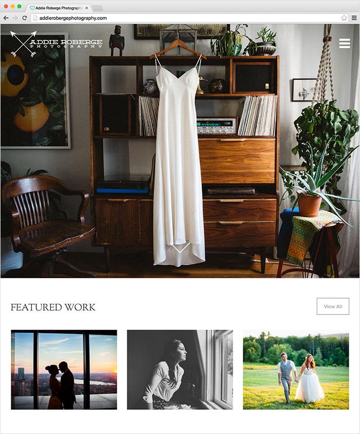 Addie Roberge Photography Website