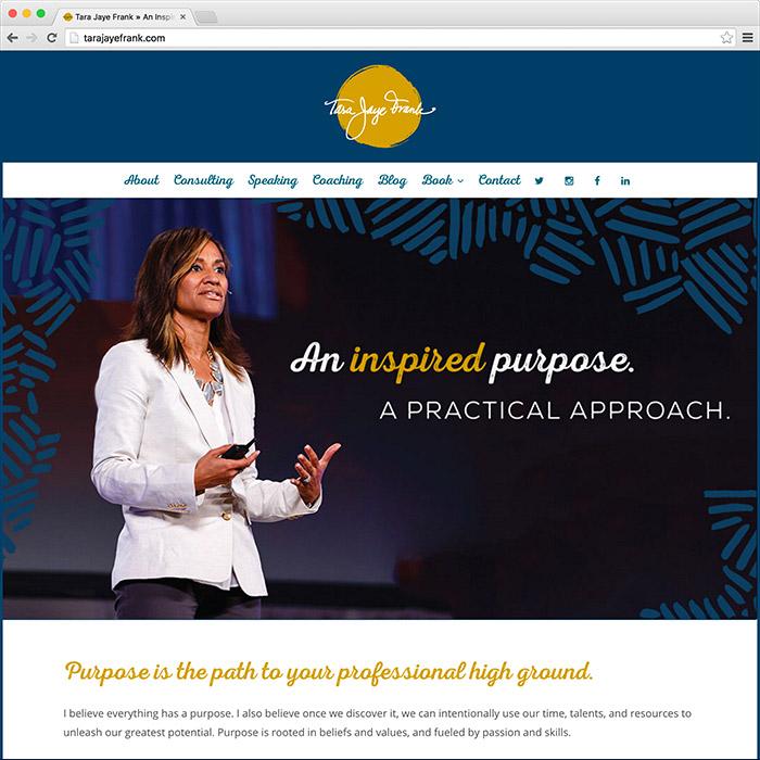 Tara Jaye Frank Website