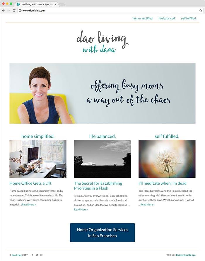 Dao Living website